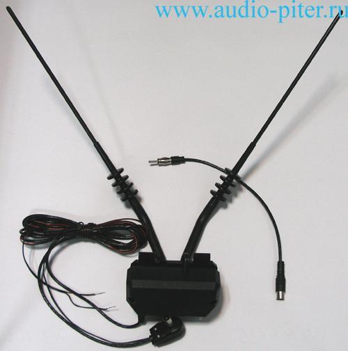 Автомобильная антенна для цифрового телевидения своими руками